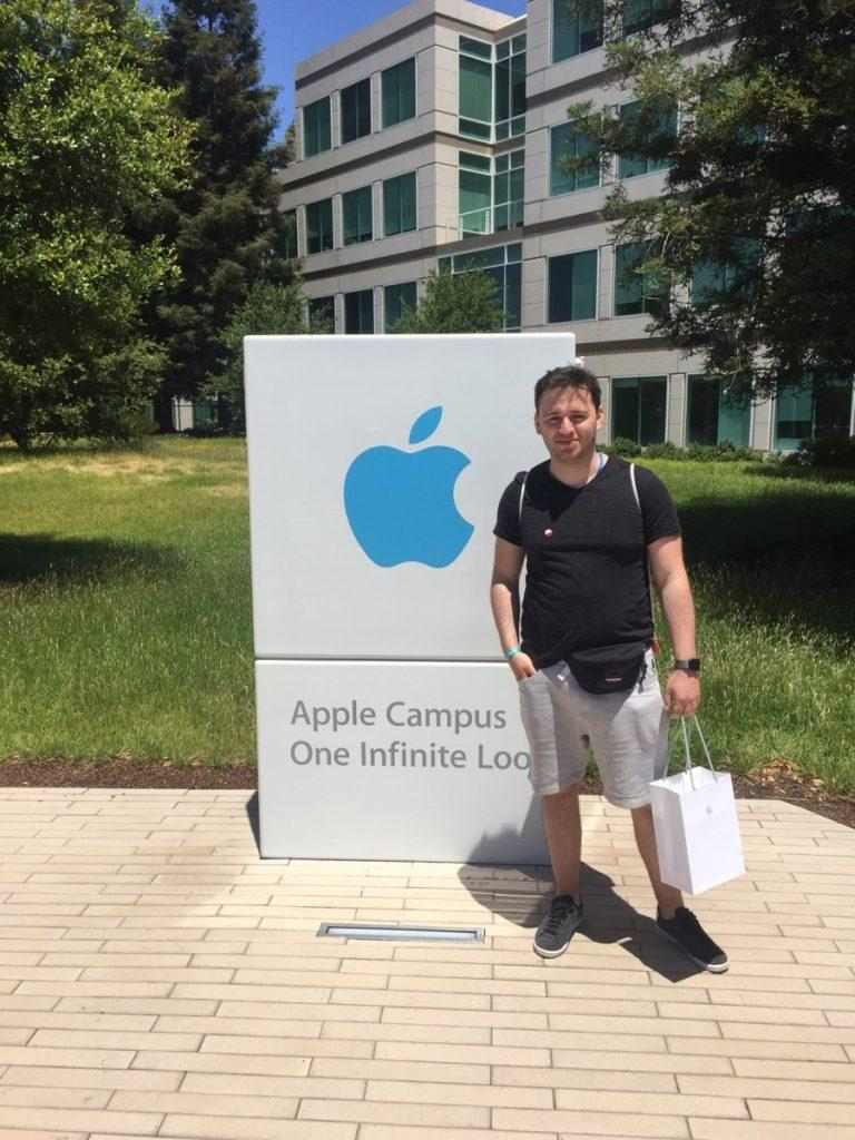 Skyrise iOS developer visiting Apple headquaters