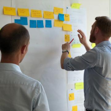 Medim case study - we validated their initial idea within Google Design Sprint process