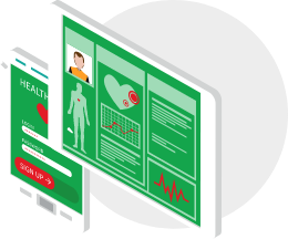 Medim case study - a healthcare company with a new SaaS solution